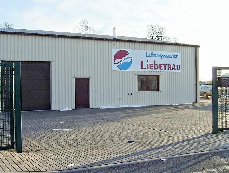 Firmengebäude von Lüftungsbau Liebetrau Schwedt/Oder